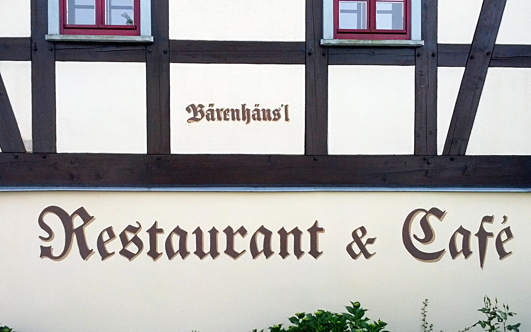 Restaurant und Café Bärenhäus'l
