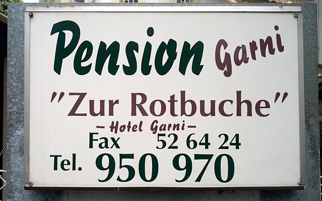 "Pension ""Zur Rotbuche"""