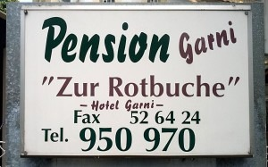 Pension Zur Rotbuche