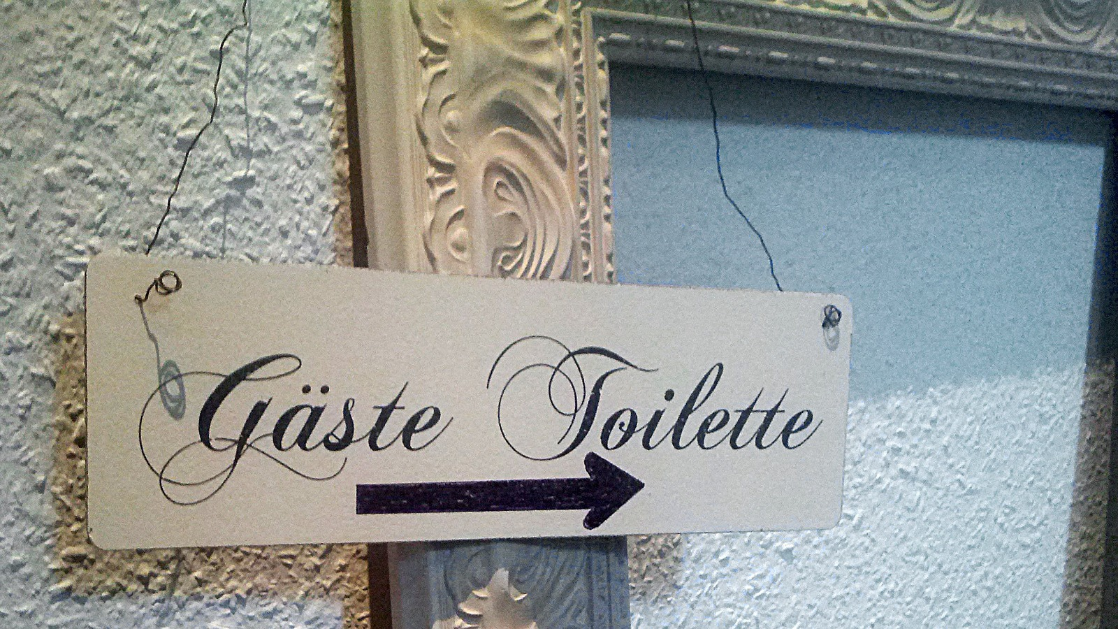 Gäste Toilette statt Gästetoilette