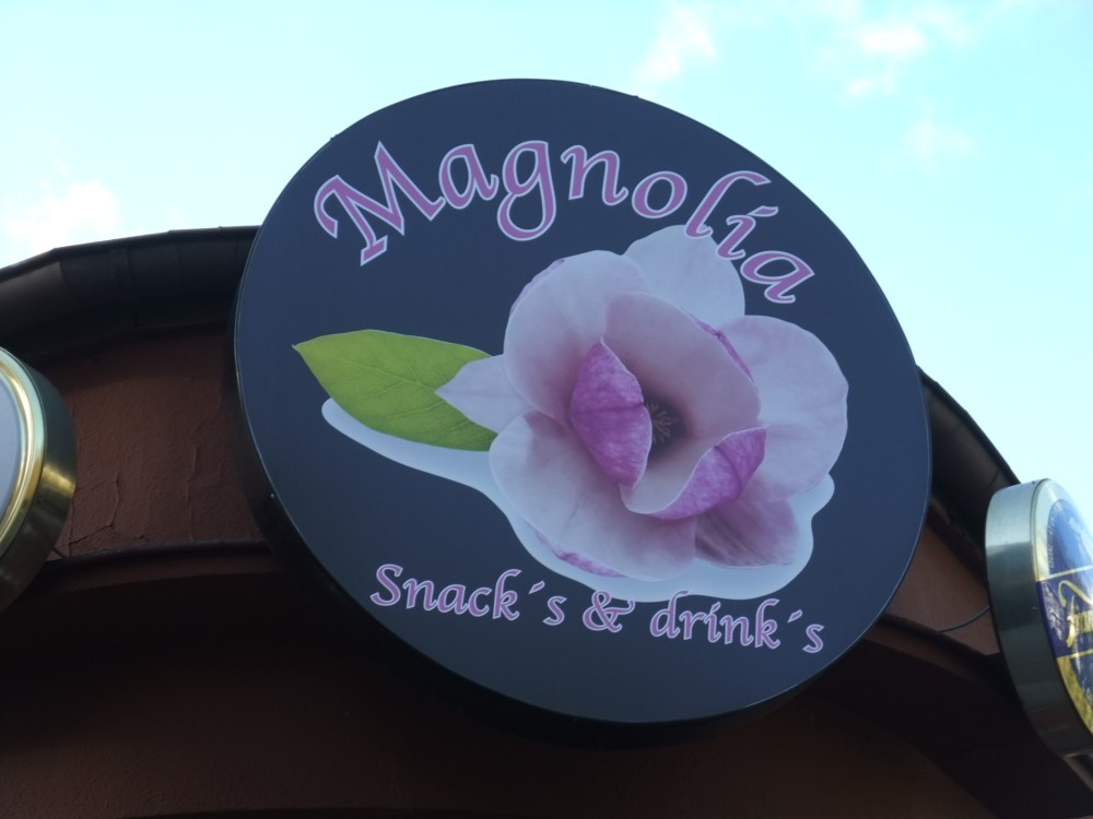 Magnolia: Snacks und Drinks
