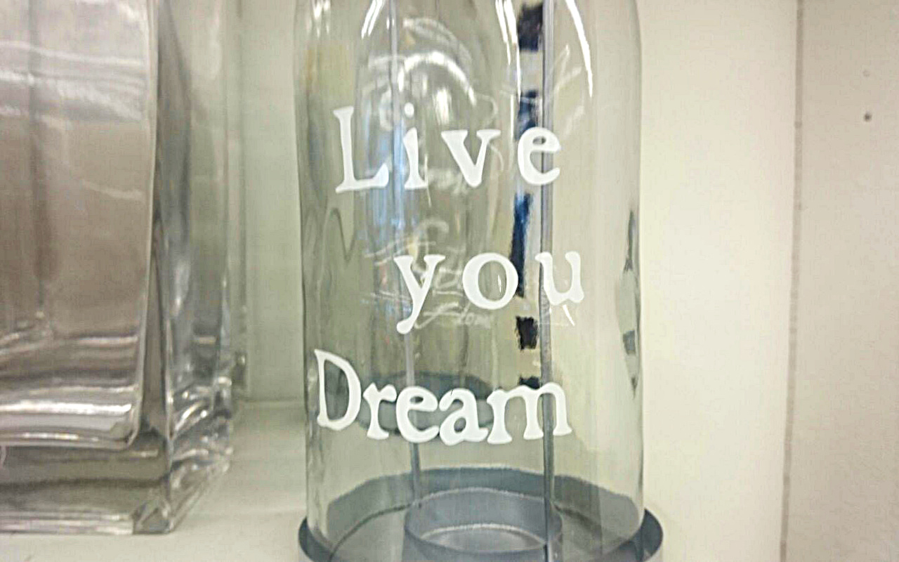 Live you dream – Lebe dich Traum!